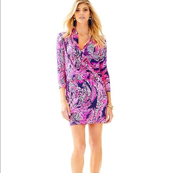 a290e6601ac99a Lilly Pulitzer Dresses | Felizia Silk Dress | Poshmark